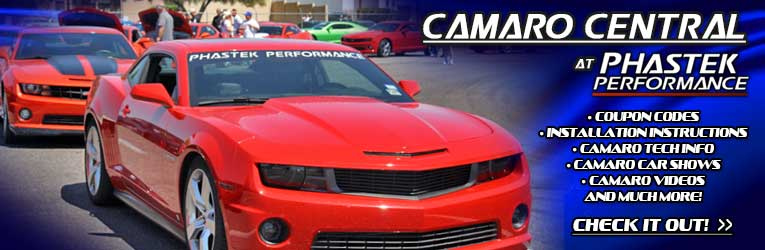 Camaro Central at Phastek Performance - Camaro Pictures, Videos, Installation Articles, Tech Info, Car Shows, and more