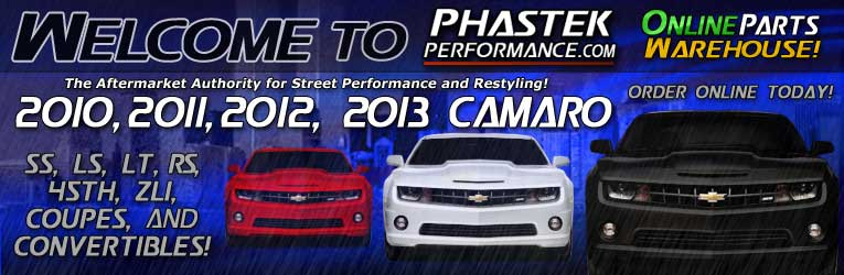 Welcome to Phastek Performance Camaro Parts Online Store and Houston Texas Local Installation Shop